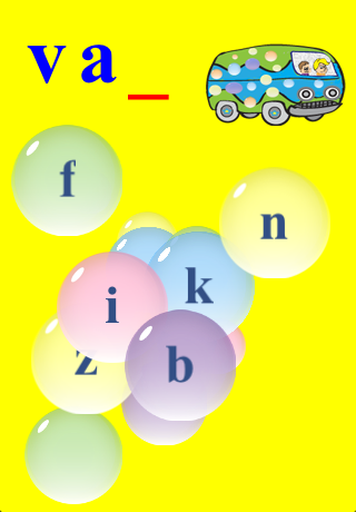 Screenshot Kids Learn to Spell with Bubbles Free