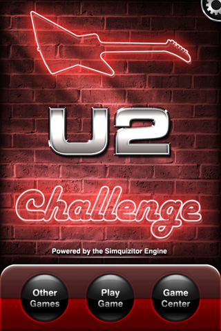 Screenshot U2 Challenge